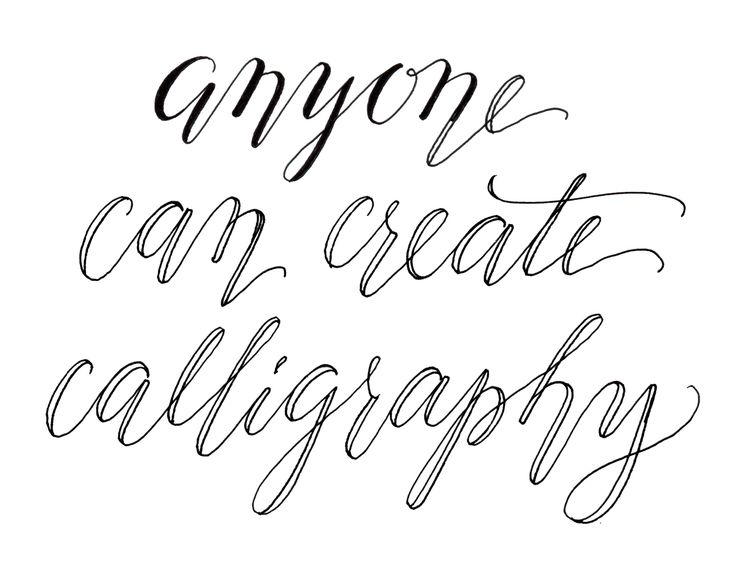 Ideas about fake calligraphy on pinterest