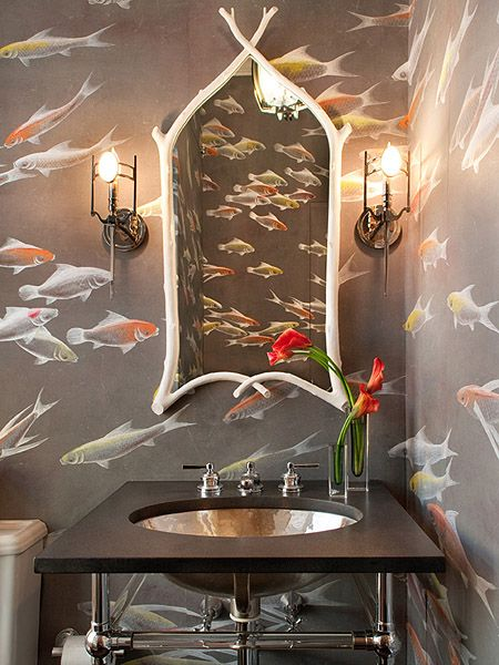 Not sure if I'd want this as my only bathroom, but it's quirky and fun enough to want as a guest bath.