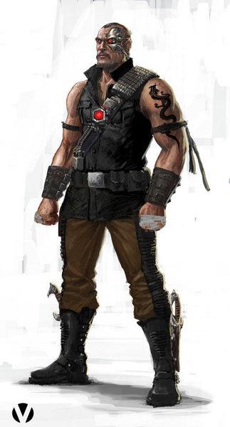 Mortal Kombat - Kano:ByConstantine Sekeris