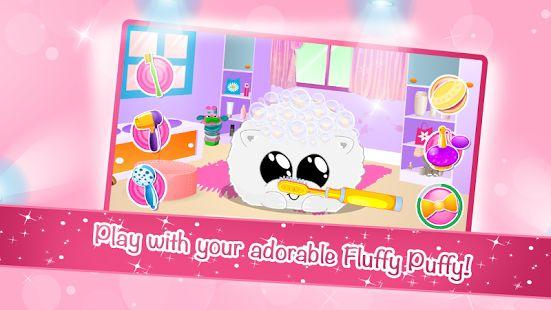 Fluffy Puffy - My Virtual Pet- screenshot thumbnail