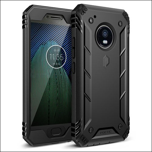 Poetic Case for Moto G5 Plus - Explore this range of best Moto G5 Plus cases/covers and choose one that flaunts unique design and efficient protection.  https://www.indabaa.com/best-moto-g5-plus-cases/