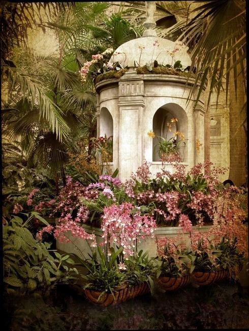 Flower Garden Gazebo : Beautiful gazebo via Ana Rosa  gazebos  Pinterest