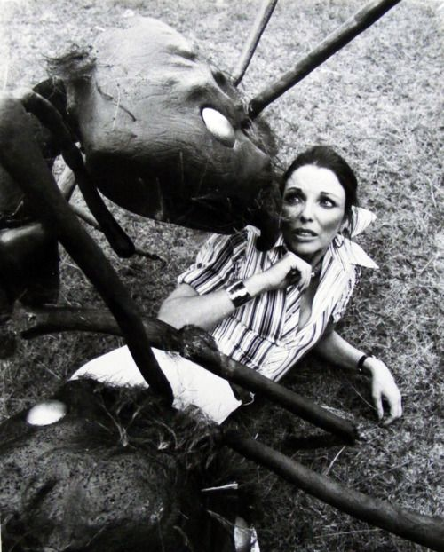Joan Collins in'Empire of the Ants', 1977.   Empire of the Ants is a 1977 science fiction horror film co-scripted and directed by Bert I. Gordon.