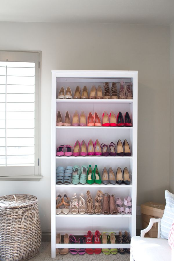 Cute Practical Diy Shoe Storage And Organization Diy Shoe