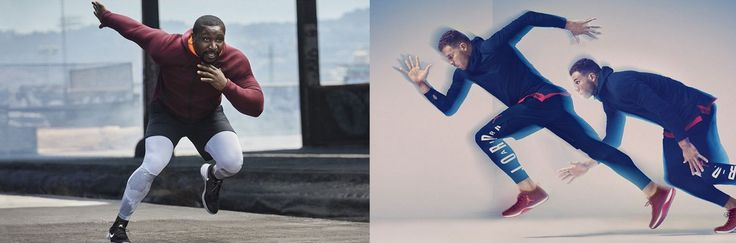 Very dynamic photography from Nike. Expected, but it's very suitable. I don't think they'd be doing so well if they had stationary photography.