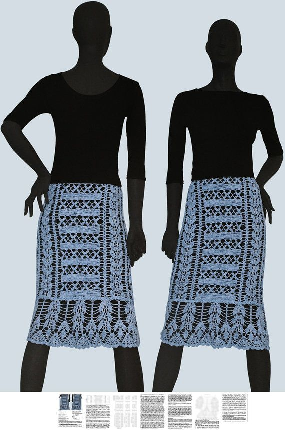 * This listing is for a digital crochet pattern - not a finished garment. You will receive detailed written instructions in ENGLISH (for every row) with all necessary graphical diagrams for crocheting this lovely skirt. Written explanation of all rows of the diagrams is provided as well. I translate all graphic symbols into English (US and UK), Danish and German and state all measurements in cm and inches. Screen shots of the tutorial show blurred diagrams (for preview in Etsy). Materials…