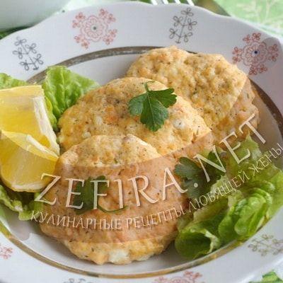 Диетические рыбные котлеты с творогом на пару — Кулинарные рецепты любящей жены