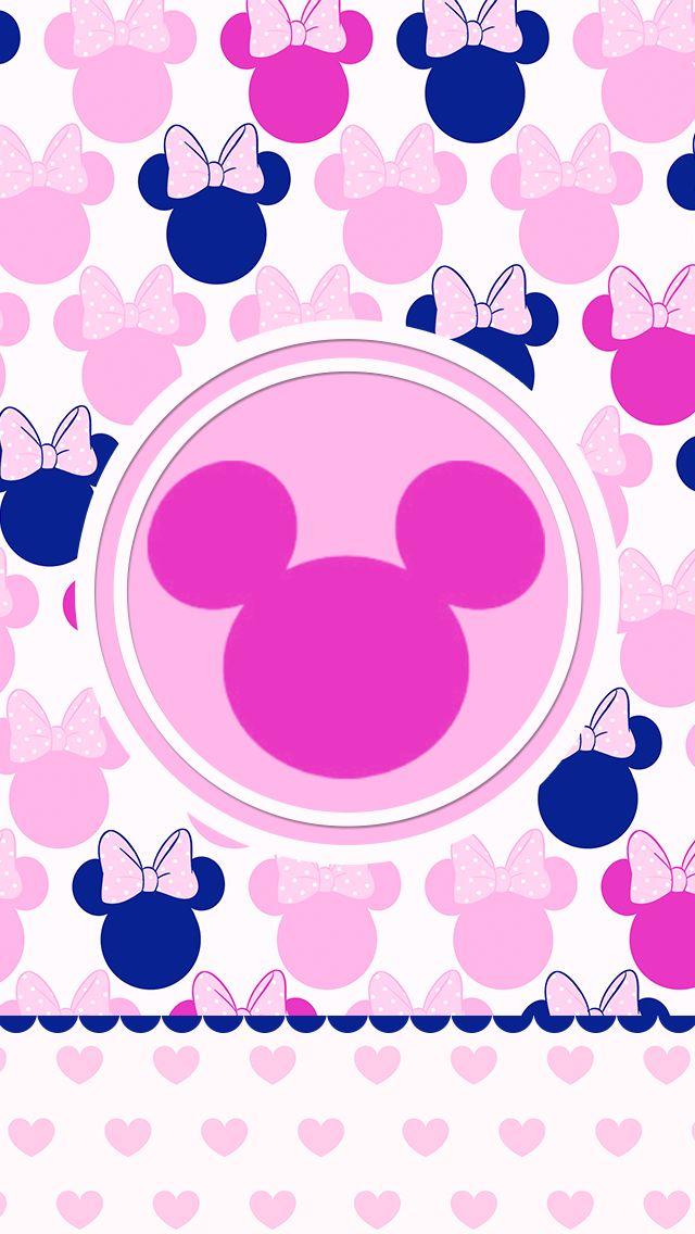 Minnie Mouse Wallpaper iPhone wallpaper Pinterest