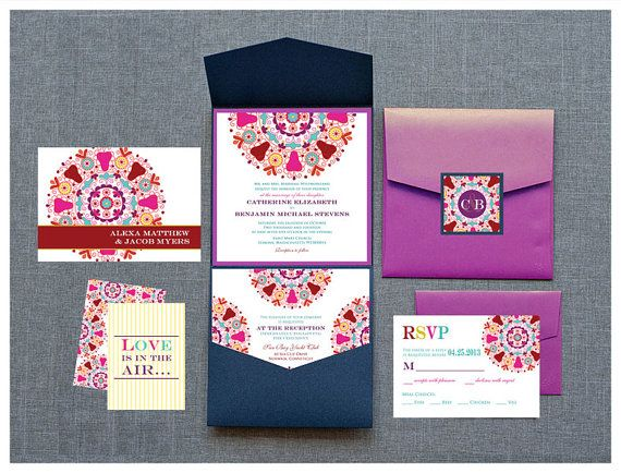 Rajasthan Collection Indian Wedding Invitation By InvitationShop