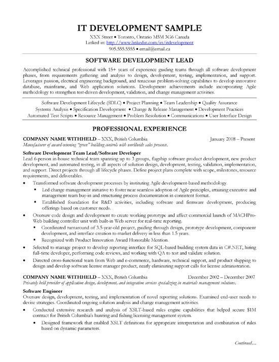 Lead Architect Resume Sample Resume Mainframe Architect Sle