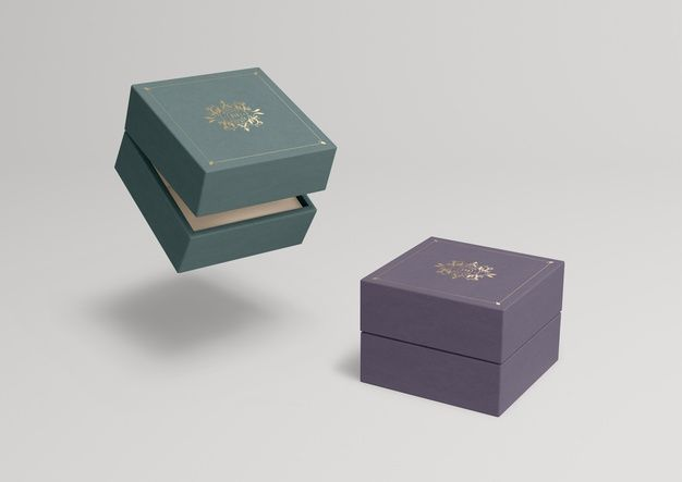 Download Download Closed Jewelry Boxes With Different Colours For Free Jewelry Box Design Free Business Card Mockup Free Logo Mockup