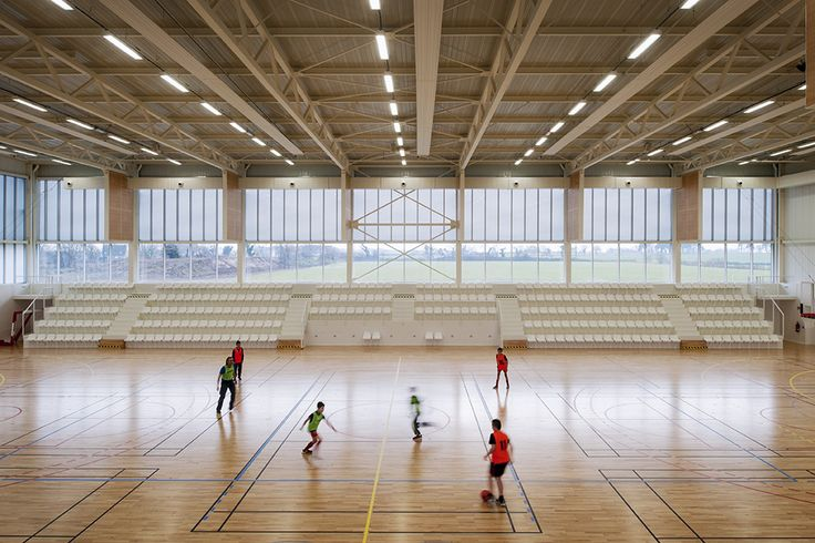 Gallery of Gymnasium Plabennec / Bohuon Bertic Architectes - 2