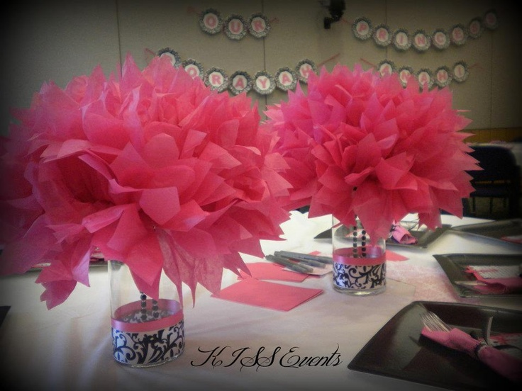 Babyshower Centerpieces
