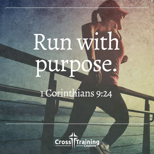 """I discipline my body like an athlete, training it to do what it should. Otherwise, I fear that after preaching to others I myself might be disqualified. – 1 Corinthians 9:24-27  #crosstrainingdevo""  Excerpt From: Michelle Myers. ""Cross Training Devos, Volume One."" iBooks. https://itun.es/us/32Lo7.l"