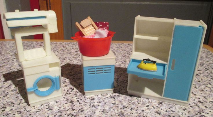 vintage* JEAN of WEST GERMANY - LAUNDRY ROOM - 16th / LUNDBY scale | eBay