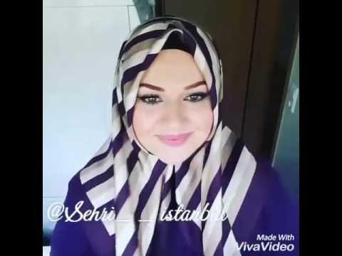 12 لفات حجاب ✔ سهلة ❤ و جميلة ❤ بالون مختلفة ❤ و تغطية رائعة ❤ انيقة وانثوية ❤ ❗ - YouTube