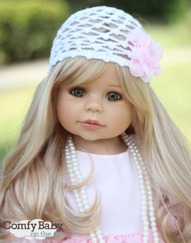 NWT RARE Masterpiece Dolls Kaylee Blonde GREEN Eyes By Monika Levenig