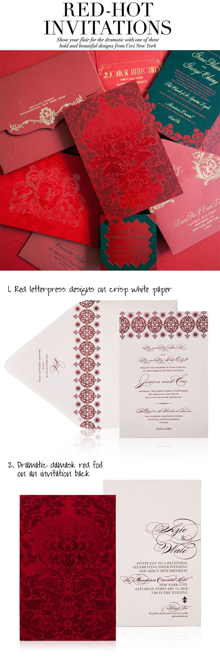 134 best Ceci Creative Tips images on Pinterest | Bridal invitations ...