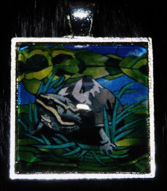 Stinkpot Turtle Pendant by KabloonaKreations on Etsy, $18.00