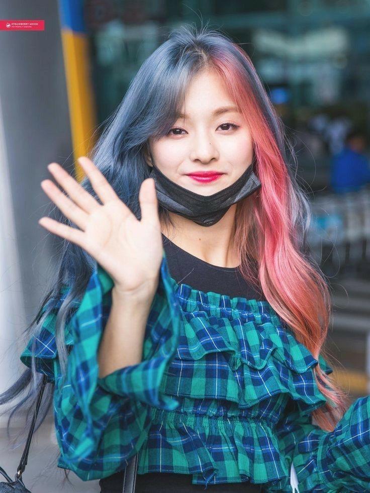 Pin Oleh St3phani3 Wu Di H A I R Gadis Korea Kecantikan Wanita