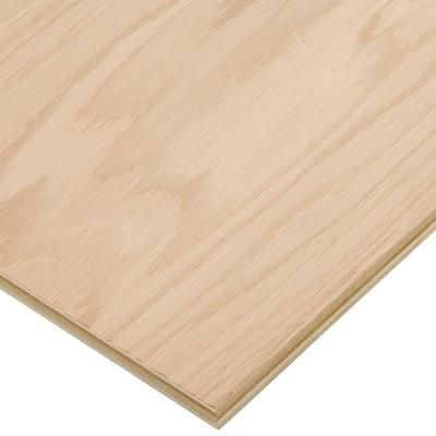 Columbia Forest Products 3/4 in. x 2 ft. x 4 ft. PureBond Red Oak Plywood Project Panel