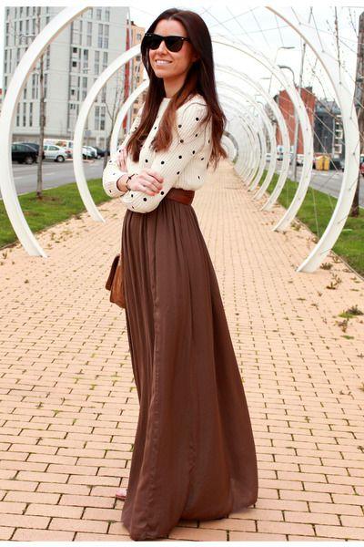Zara dress - rayban sunglasses - Minnetonka sandals - Zara jumper