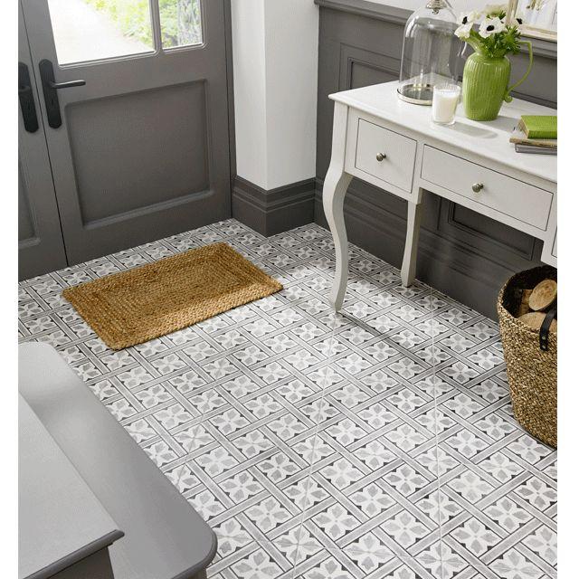 LA52000-Mr-Jones-Charcoal-33x33 british ceramic tile/laura ashley