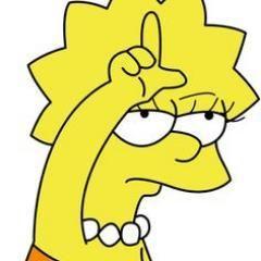 Sarcasm Simpson wallpaper iphone, Lisa simpson