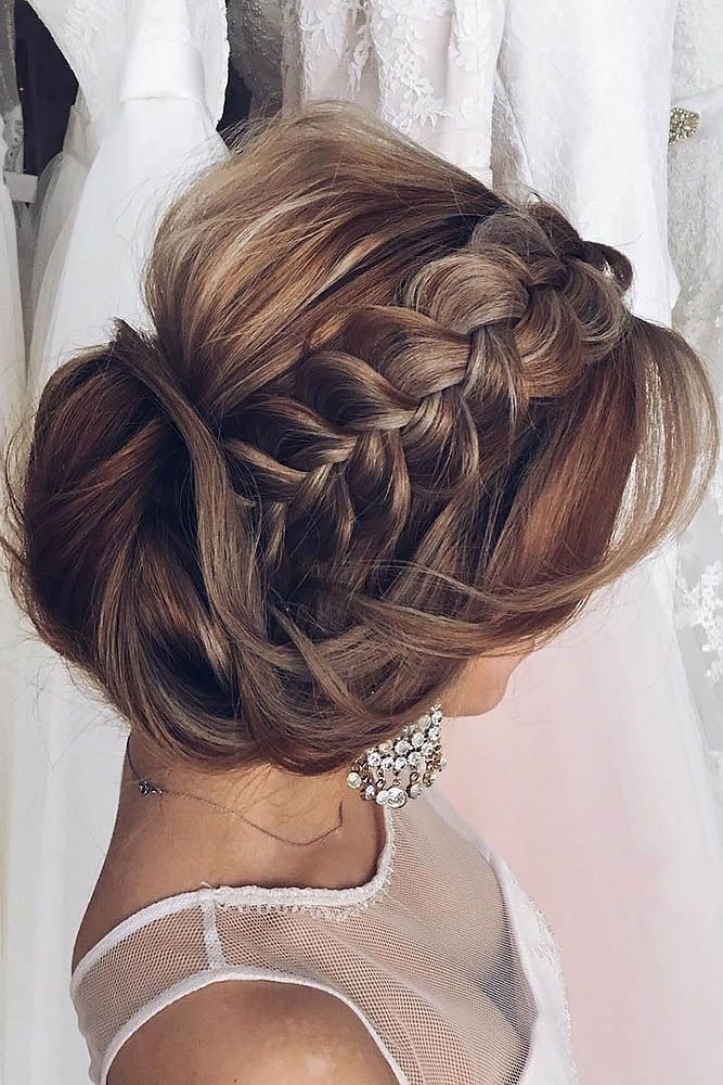 Phenomenal 1000 Ideas About Bridal Hair Braids On Pinterest Brunette Hairstyles For Men Maxibearus