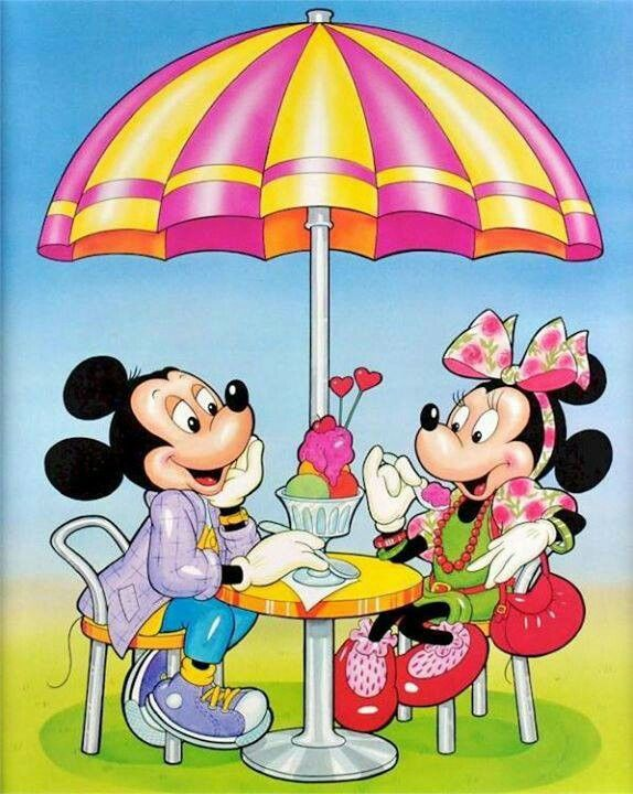 Vintage Mickey And Minnie Wallpaper