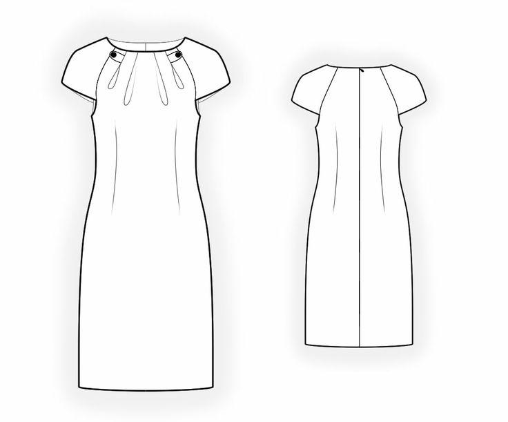 Платья простые в картинках