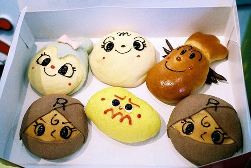 so cute ♥ bun bun bread