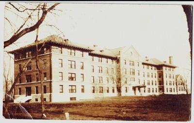 '12 Waterloo Iowa Real Photo RPPC Postcard St Francis Hospital Black Hawk County | eBay
