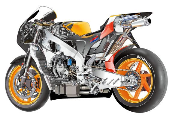 BIKE REPSOL HONDA