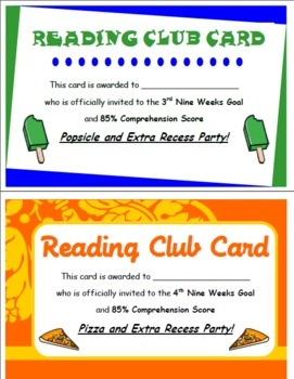 Accelerated Reader Rewards - Amanda Terhune - TeachersPayTeachers.com