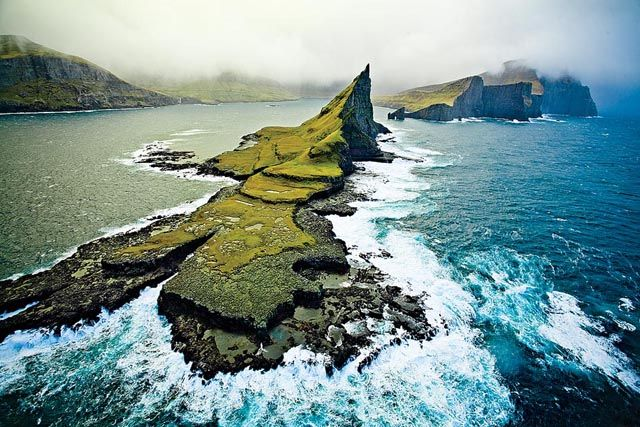 This is what my home looks like. Welcome to the Faroes:)