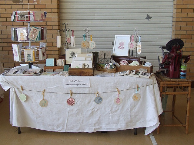my stall at the makers market march 2010 by ruby victoria via flickr craft booth displayscraft