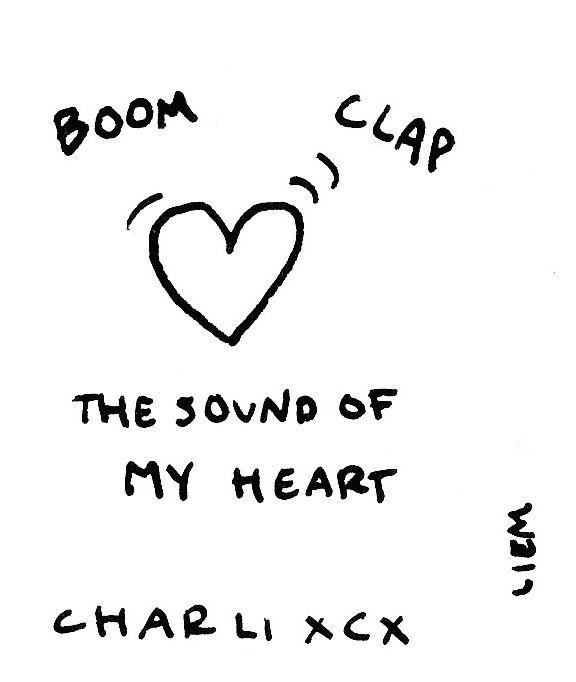 Charli XCX. Boom Clap.