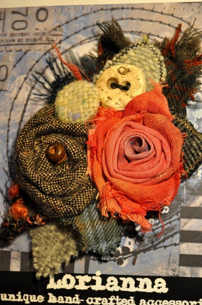 wool irish handwoven tweed tartan handmade button coat dress shawl scarf pin xl