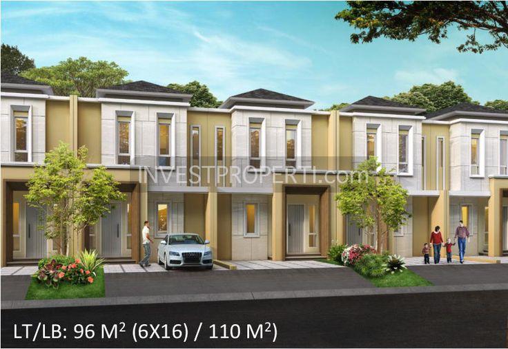 rumah di cluster #LeoraAlamSutera tipe 6x16m2