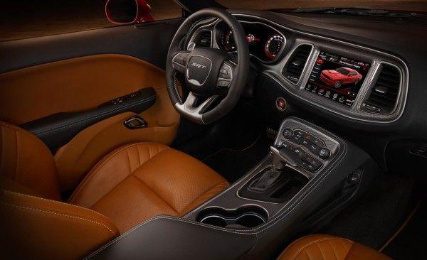 2015 Dodge Challenger SRT interior images