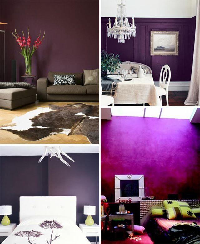 Meer dan 1000 idee n over paarse muren op pinterest verf muren paarse keuken en slaapkamer - Welke kleur verf voor een kamer ...