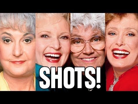 """Grab a couple friends, your favorite drinks, and join us as we play the Golden Girls drinking game. Here's how: 
