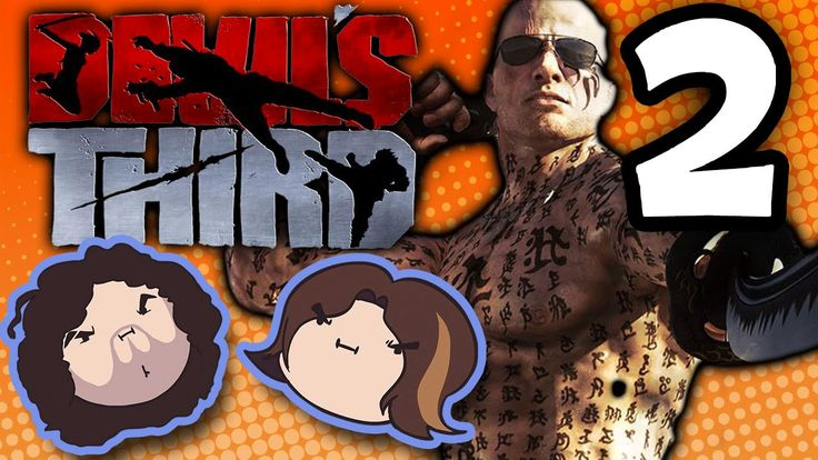Devil's Third: Grouchy Crouching - PART 2 - Game Grumps