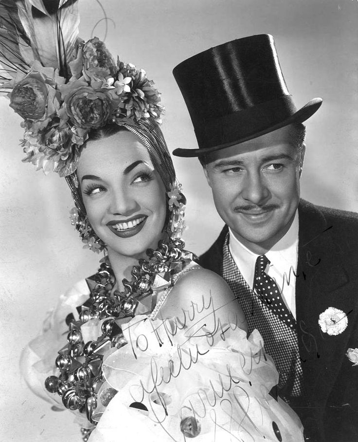 CARMEN MIRANDA FOREVER - Carmen_Miranda_e_Don_Ameche_em_That_Night_in_Rio.