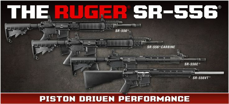 Ruger SR-556 the best second AR-15 (piston), $100 more ...