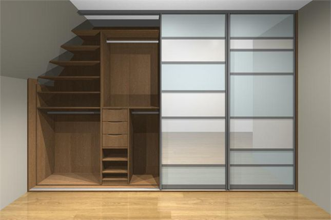 Loft Wardrobes | Angled Ceiling Storage Solutions - Sliderobes