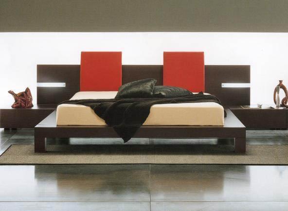 Modloft Monroe Platform Bed with Side Lights - with side lights!