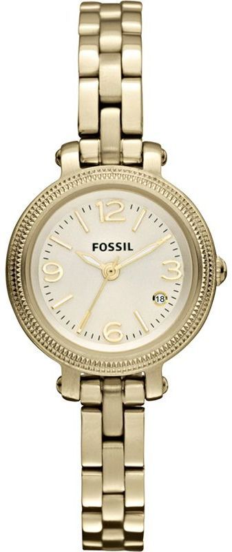 #Fossil #Watch , FOSSIL #ES3194 Heather Mini Three Hand Stainless Steel Gold-Tone Watch