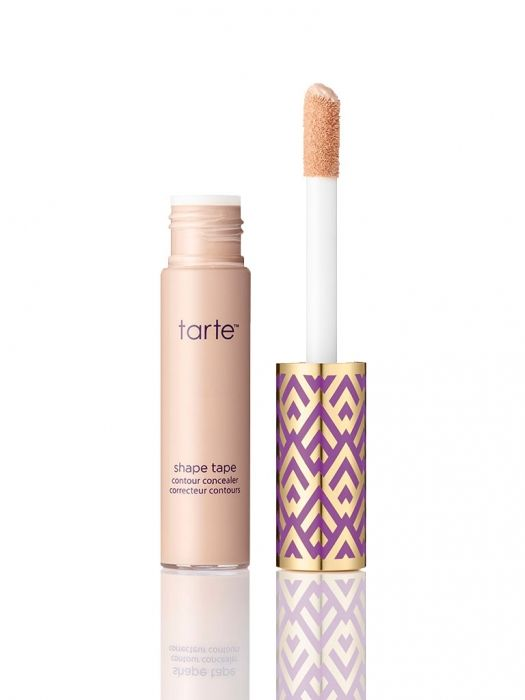 shape tape contour concealer from tarte cosmetics Shade:light For skin with pink under tones